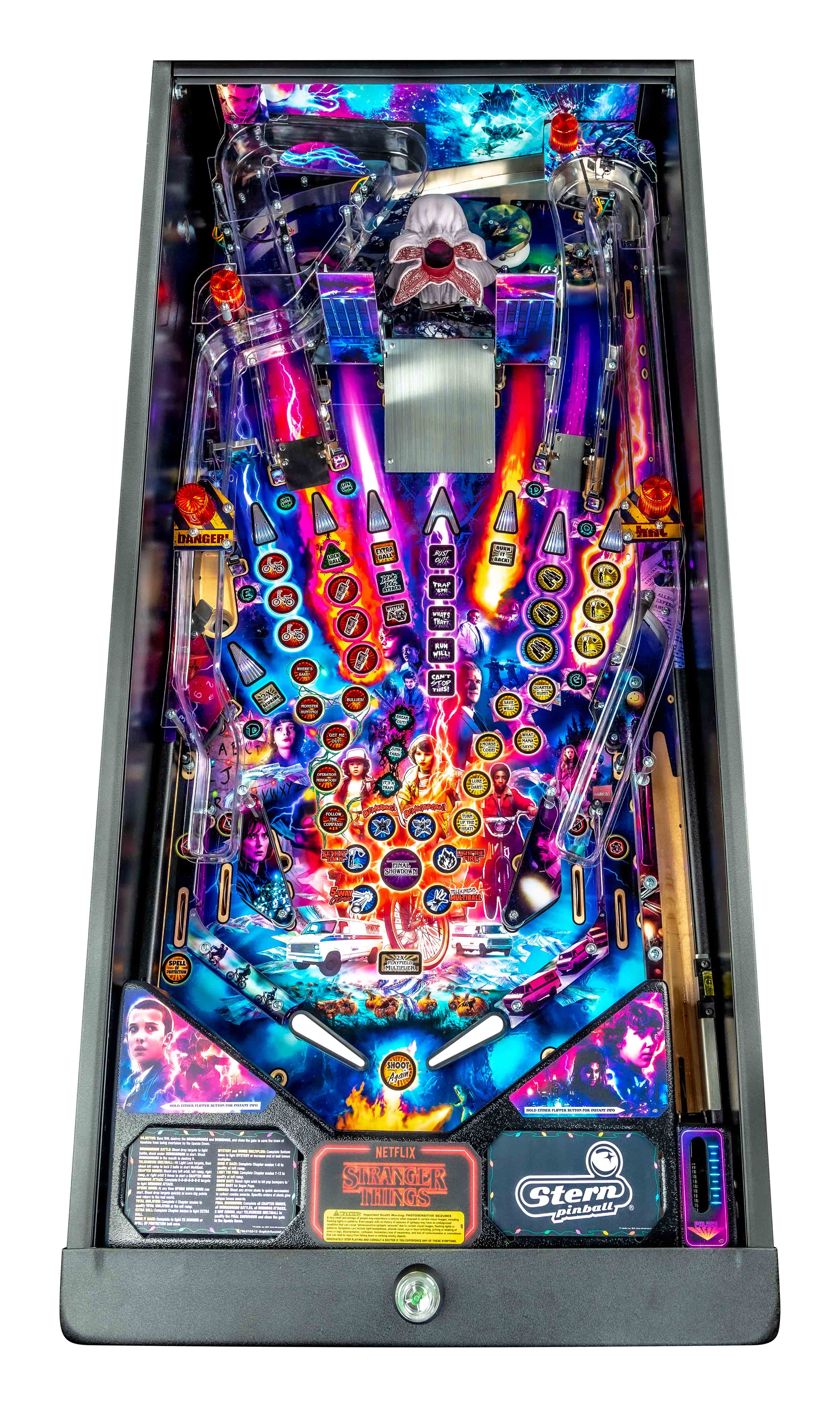 StrangerThings Pro Playfield Open neu