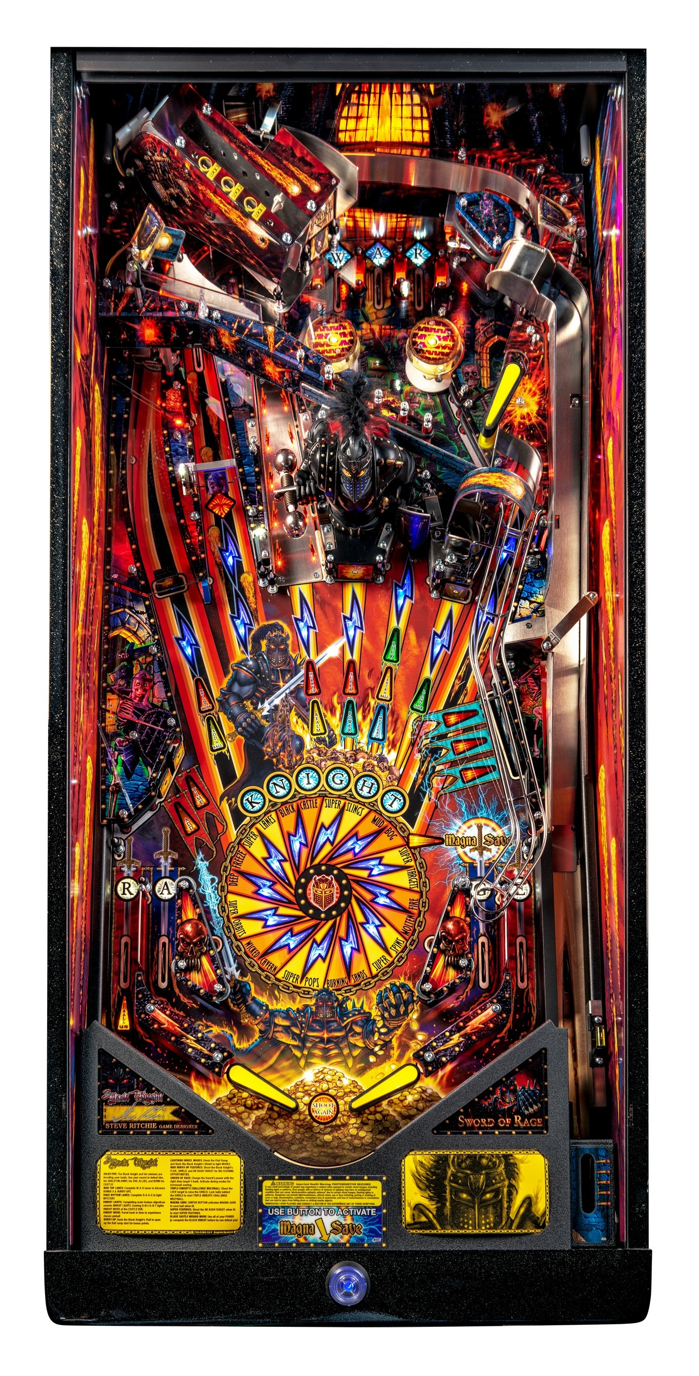 BlackKnight LE Playfield