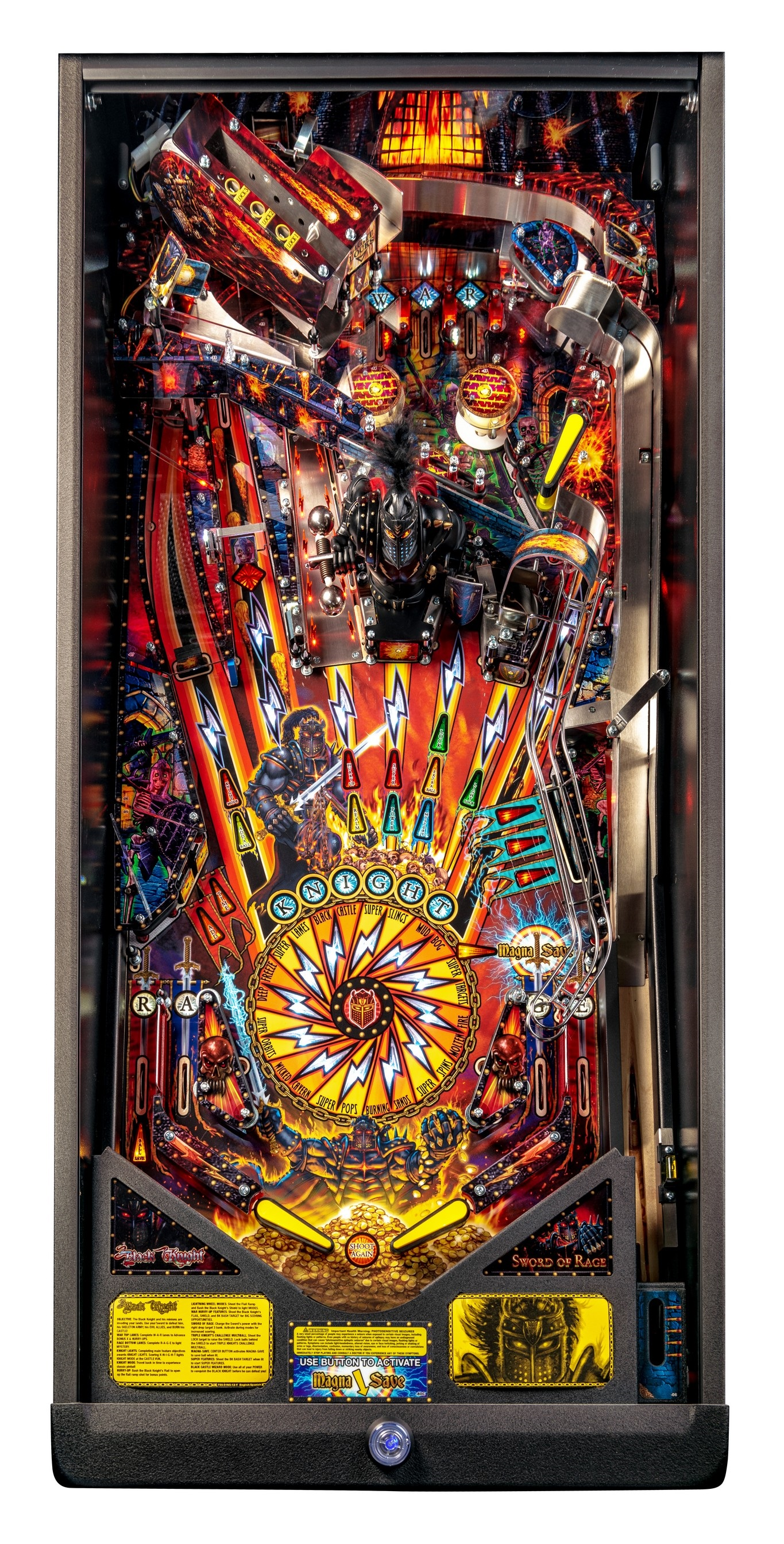 BlackKnight Premium Playfield