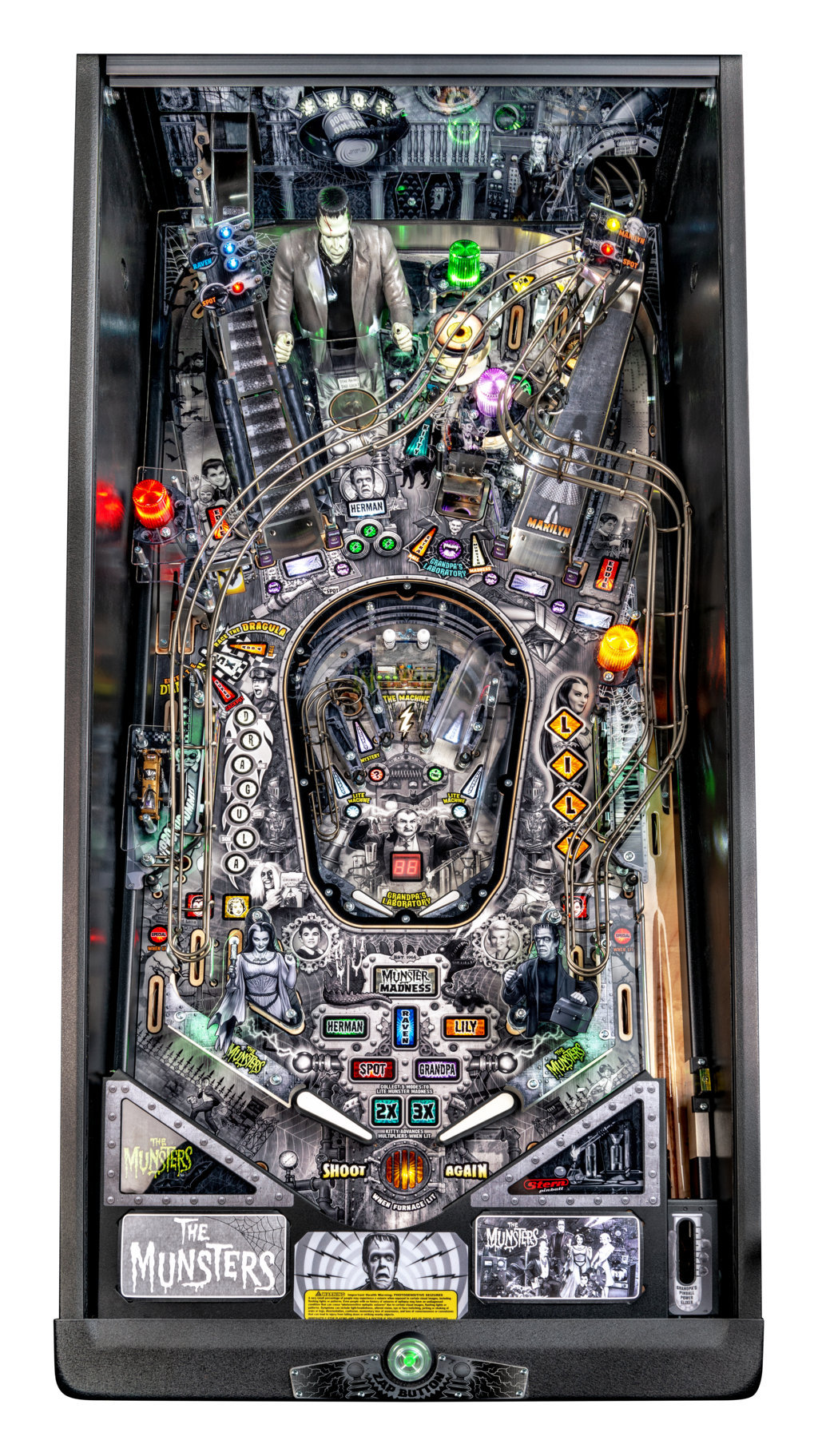 Munsters Premium Playfield mini